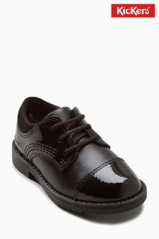 Kickers® Black Lachly Lace Up Shoe