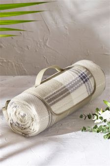 Country Check Picnic Blanket