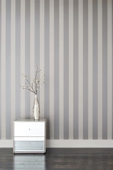 Paste The Wall Sequin Stripe Wallpaper