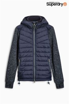 Superdry Hybrid Zip Hooded Jacket