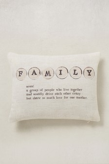 Family Wording Cushion