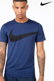 Nike Gym Binary Blue Breathe T-Shirt