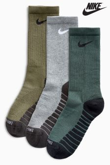 Nike Dry Cushion Crew Training Socks Three Pack