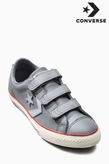 Converse Grey Star PLayer 3 Strap Velcro