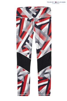 Tommy Hilfiger Grey Girls Belita Printed Legging