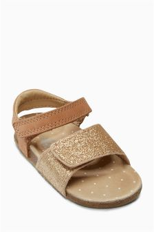 Glitter Corkbed Sandals (Younger Girls)