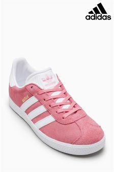 adidas Pink/White Gazelle
