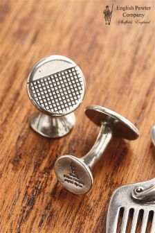 Pewter Company Cufflinks