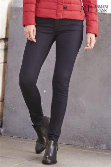 Denim Dark Blue Armani Jeans Skinny Jean