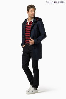 Tommy Hilfiger Navy Duffle Coat
