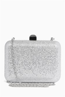 Boxy Clutch Bag