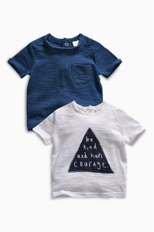 Two Pack T-Shirts (0mths-2yrs)