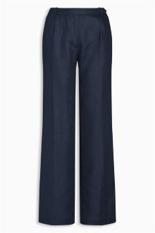 Linen Slouch Trousers