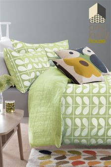 Orla Kiely Avocado Grid Stem Duvet Cover