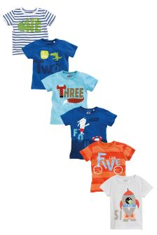 Age T-Shirt (12mths-7yrs)