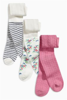Tights Three Pack (0mths-2yrs)