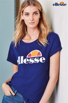 Navy Ellesse® Logo T-Shirt