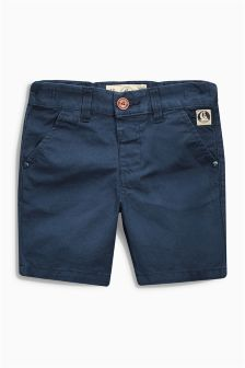 Navy Chino Shorts (3mths-6yrs)
