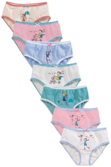 Girl Briefs Seven Pack (1.5-12yrs)