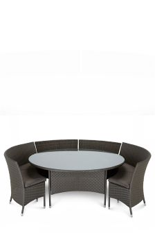 Valencia Grey 7 Piece Dining Set