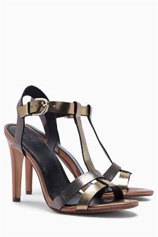 Colourblock Sandals