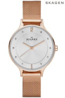 Skagen® Anita Ladies Steel Mesh Watch