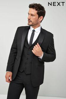 Black Tuxedo Suit: Jacket