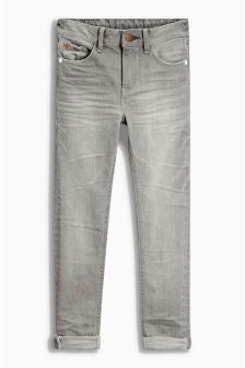 Denim Grey Super Skinny Jeans (3-16yrs)
