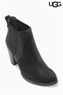 Ugg Black Cobie Heeled Boot