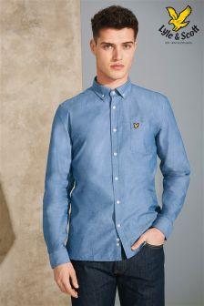 Blue Lyle & Scott Long Sleeve Shirt