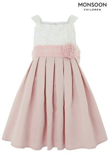 Monsoon Pink Enola Flower Dress