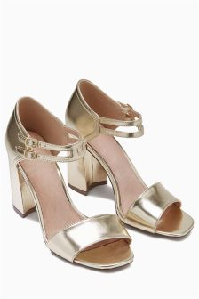 Double Ankle Strap Sandals