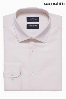 Signature Canclini Textured Shirt