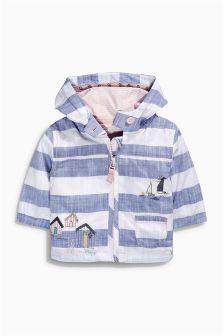 Stripe Embellished Jacket (0mths-2yrs)