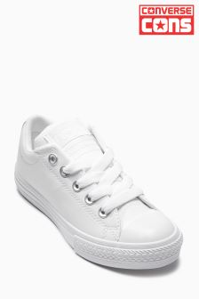 Converse All Star White High Street