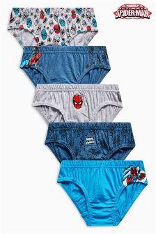 Spider-Man™ Briefs Five Pack (1.5-8yrs)