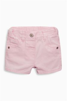 Pink Five Pocket Shorts (3mths-6yrs)