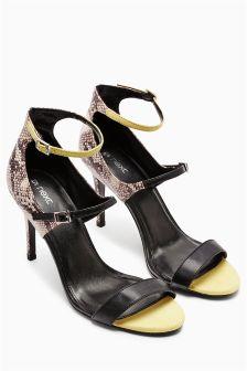 Three Strap Sandals