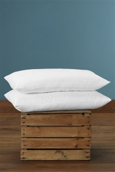 Set Of 2 Temperature Regulating Pillows