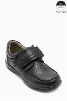 Premium Leather Single Strap Shoes (Older Boys)