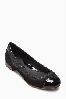 Premium Leather Comfort Ballerinas