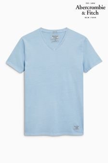 Abercrombie & Fitch Blue Circle Graphic T-Shirt
