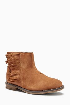 Tassel Ankle Boots (Older Girls)