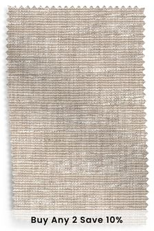 Boucle Weave Dark Natural Fabric Roll