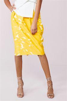Jacquard Tulip Skirt