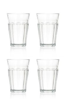 Set Of 4 Tall Picardie Glasses