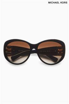 Michael Kors Logo Round Sunglasses