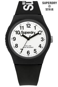 Black Superdry Watch