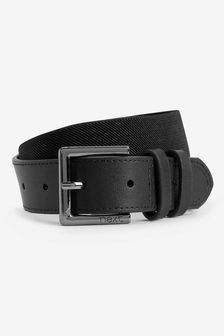 Leather And Elastic Belt (Older Boys)