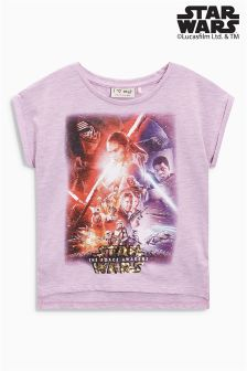Pink Star Wars™ T-Shirt (3-16yrs)